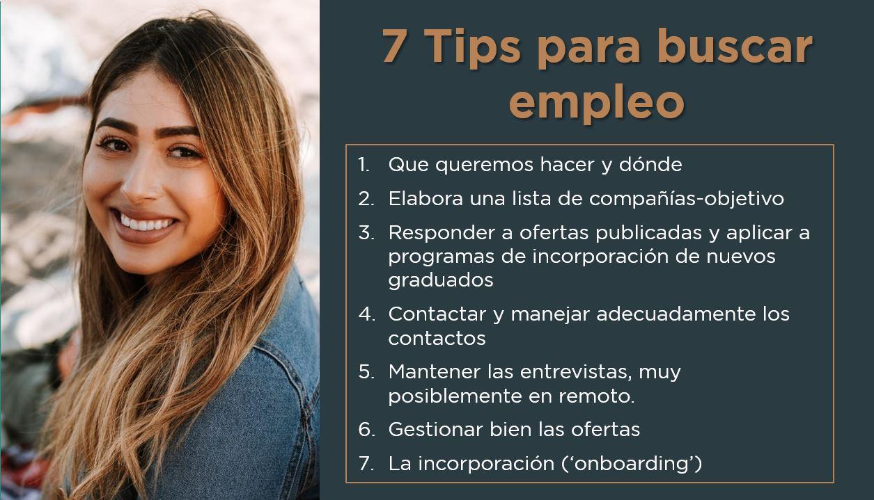 7 Tips para buscar empleo | Buscar Trabajo | José Manuel López García-Silva