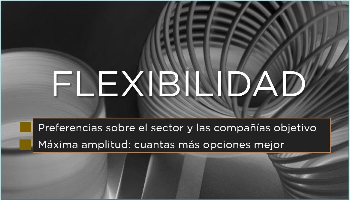 Flexibilidad | Generar opciones | Encontrar trabajo | José Manuel López García-Silva